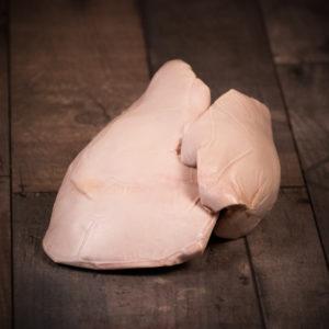Foie gras frais déveiné 400 à 500g pièce