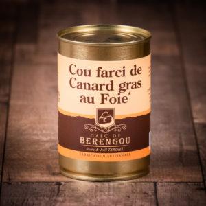Cou farci de canard gras au foie 380g