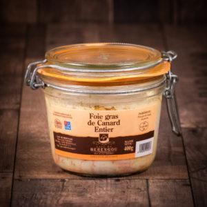 Verrine foie gras entier de canard 400g