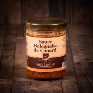 Sauce Bolognaise de canard 720g