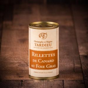 Rillettes de canard au foie gras 190g